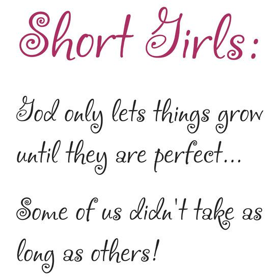 short girl quotes on pinterest small girl problems