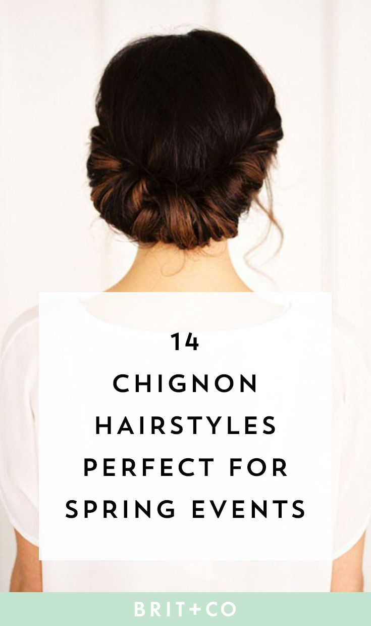 14 Pretty Chignons That Will Make Your Easter Sunday Outfit ...