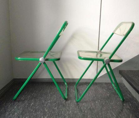 Möbel Eppendorf castelli plia folding chair for vitra artemide kartell eiermann in
