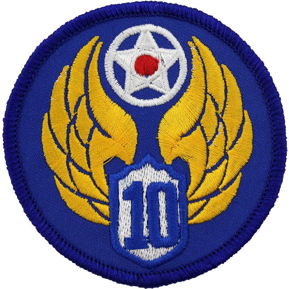 Wwii army air corps 10th air force class a patch air force wwii army air corps 10th air force class a patch biocorpaavc Gallery