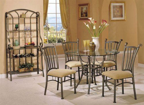 5Piece Dinette Setacme Furniture * More Info Could Be Found At Best Acme Dining Room Set Decorating Inspiration