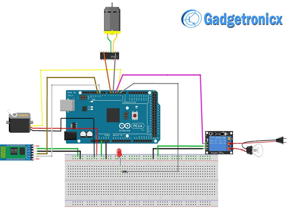 Voice Controlled Home Automation Using Arduino Home Automation