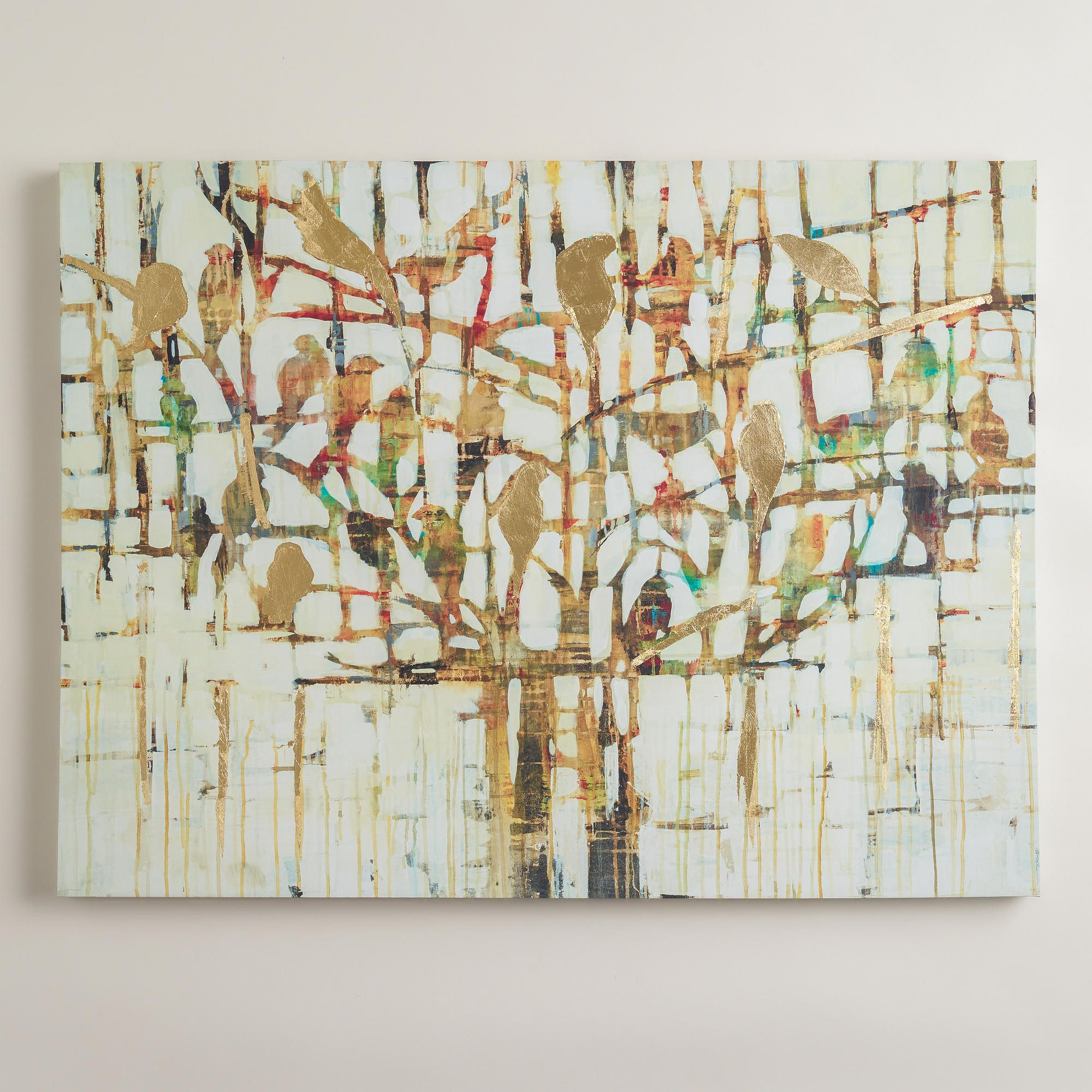 """Gold Trees"" By Liz Jardine"