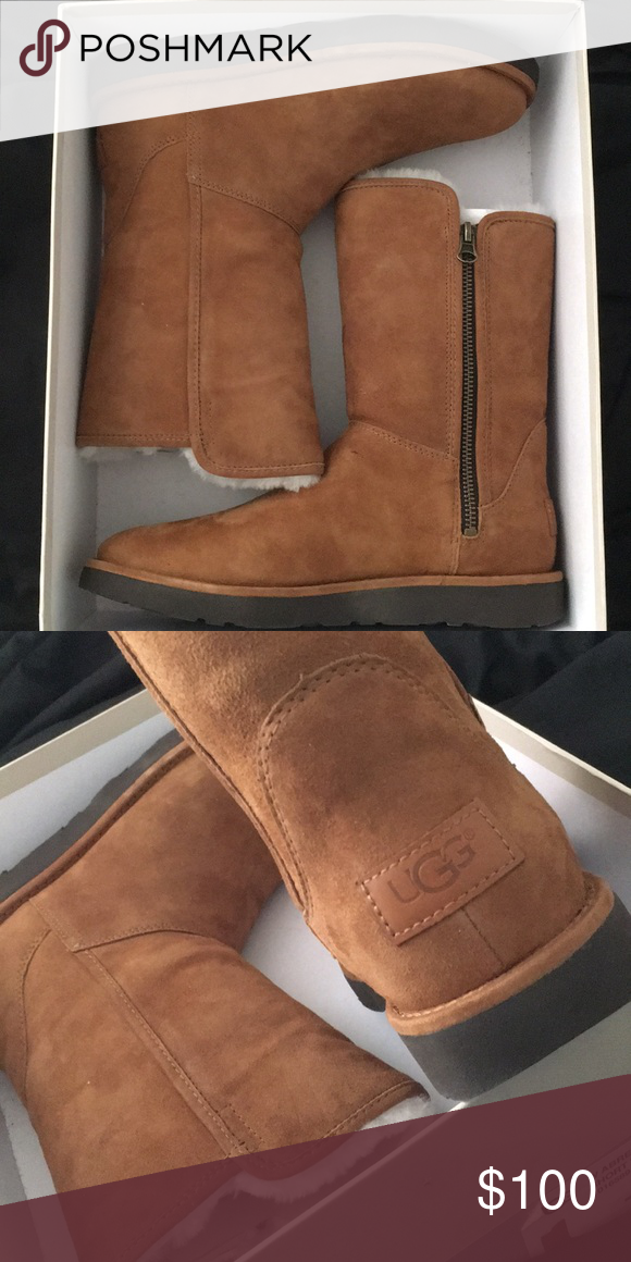 f1f94d079aa Woman's uggs Woman's size 7 , short brown uggs . Offers welcome UGG ...