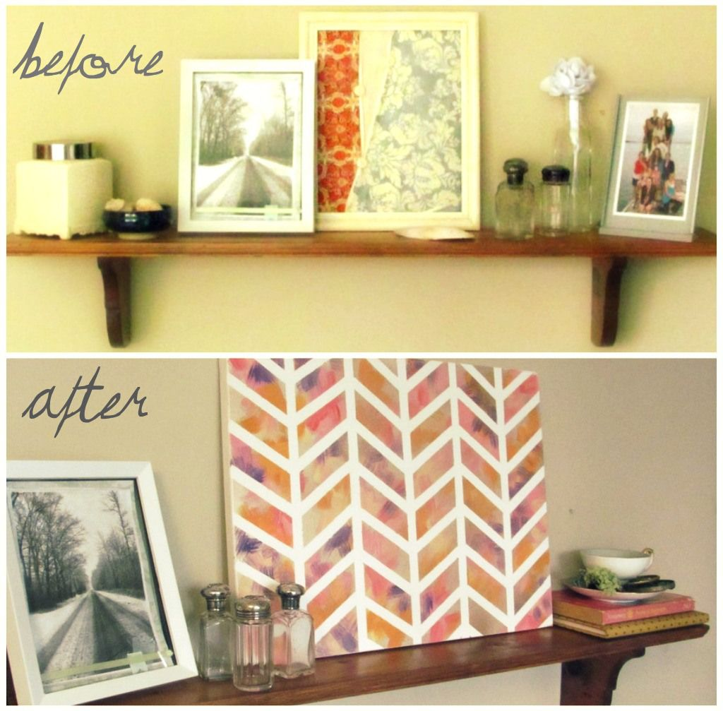 Pinterest Challenge: DIY Wall Art | Diy wall art, Diy wall and Nest