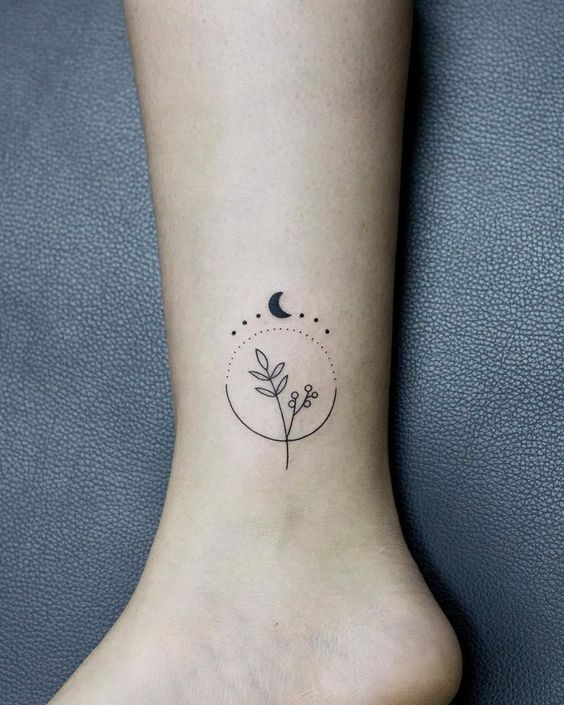 62 Beautiful Ankle Tattoos You May Love to Try! - Page 3 of 62 - LoveIn Home
