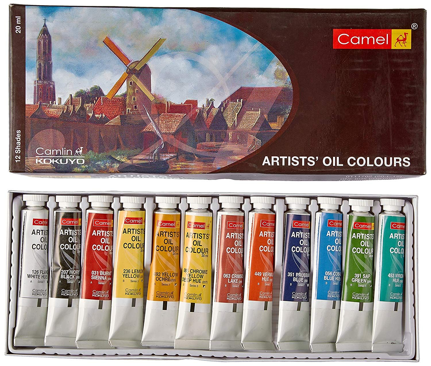 A Great Starter Kit For Your Oil Painting Journey The Tubes Have