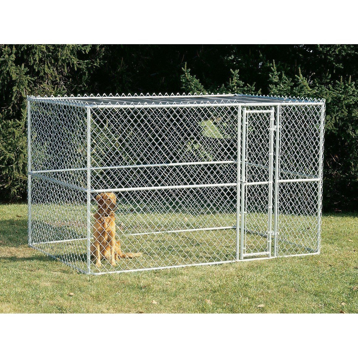 Midwest K 9 Chain Link Dog Kennel Chain Link Dog Kennel