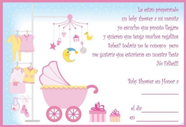 5429d6ab92889 Cómo hacer invitaciones para un Baby Shower - 6 pasos