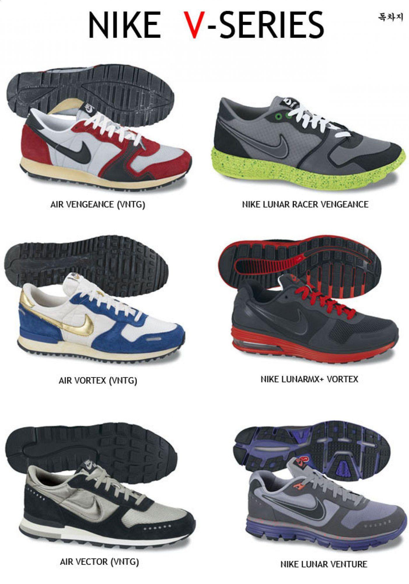 The V Series Originals And Now The Re Birth Nike Lunar