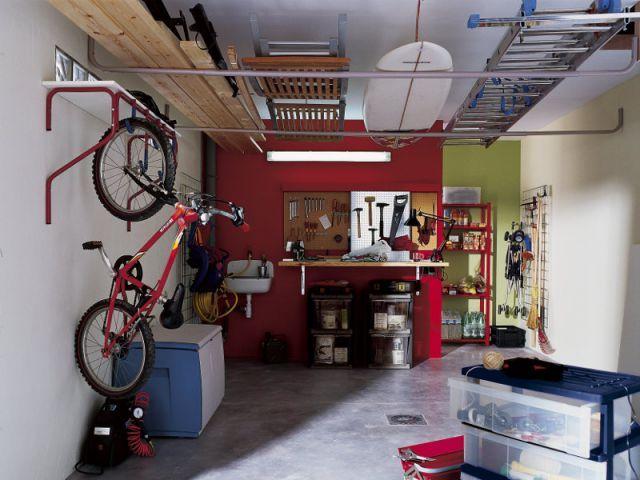 Des Amnagements Pour Garages Et SousSols  Rangement Garage