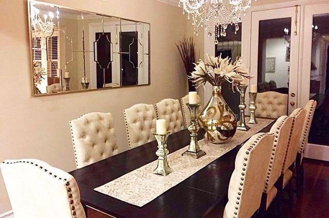 46 Stunning Modern Dining Room Table Decor Dining Room Table