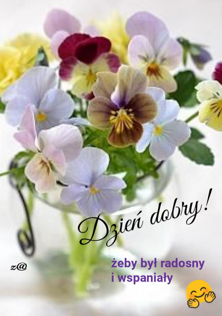 Pin By Krystyna Pazdxior On Dzien Dobry Good Morning Flowers Good Morning Images Flowers Good Morning Greetings