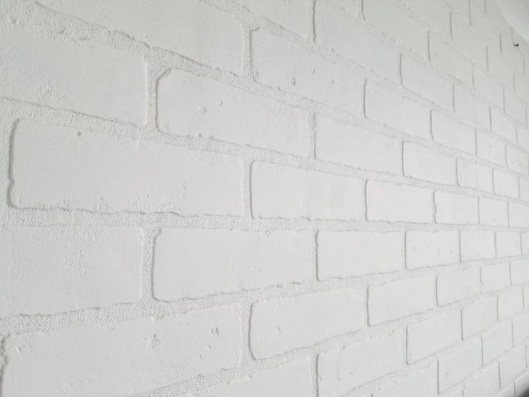 Diy How To Make A Faux Brick Wall With Textured Panels Brick