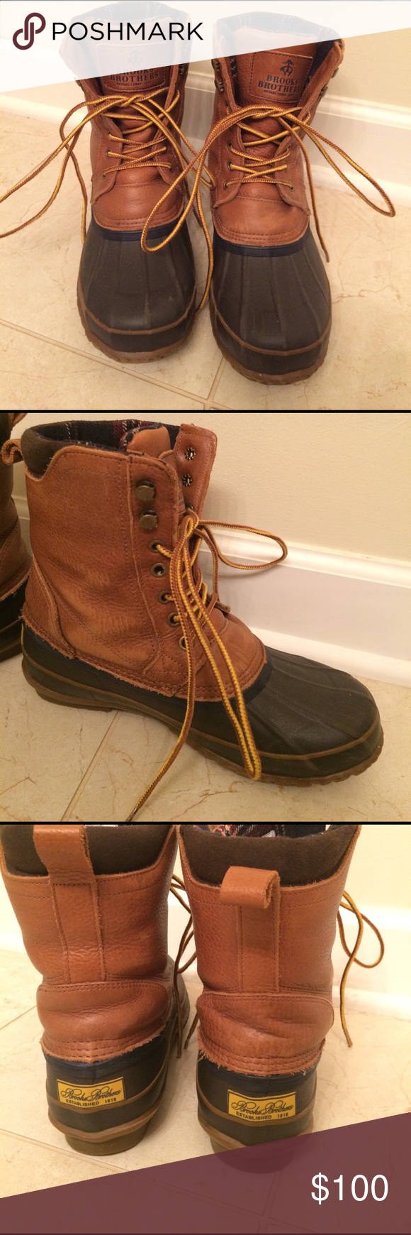 973648257ae Fits like a women s 9 9.5. Warm and spacious for thick socks! Leather upper  with insulated fur lining