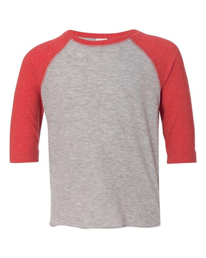 469e1abab2 Rabbit Skins 3330 - Toddler Fine Jersey Three-Quarter Sleeve Baseball T- Shirt