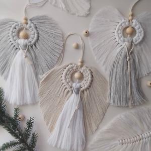 Large Macrame Angel, angel, mackerramma, Macrame A