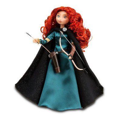 "Amazon.com: Disney Store Exclusive 11"" Classic Doll Brave Princess Merida: Toys & Games"