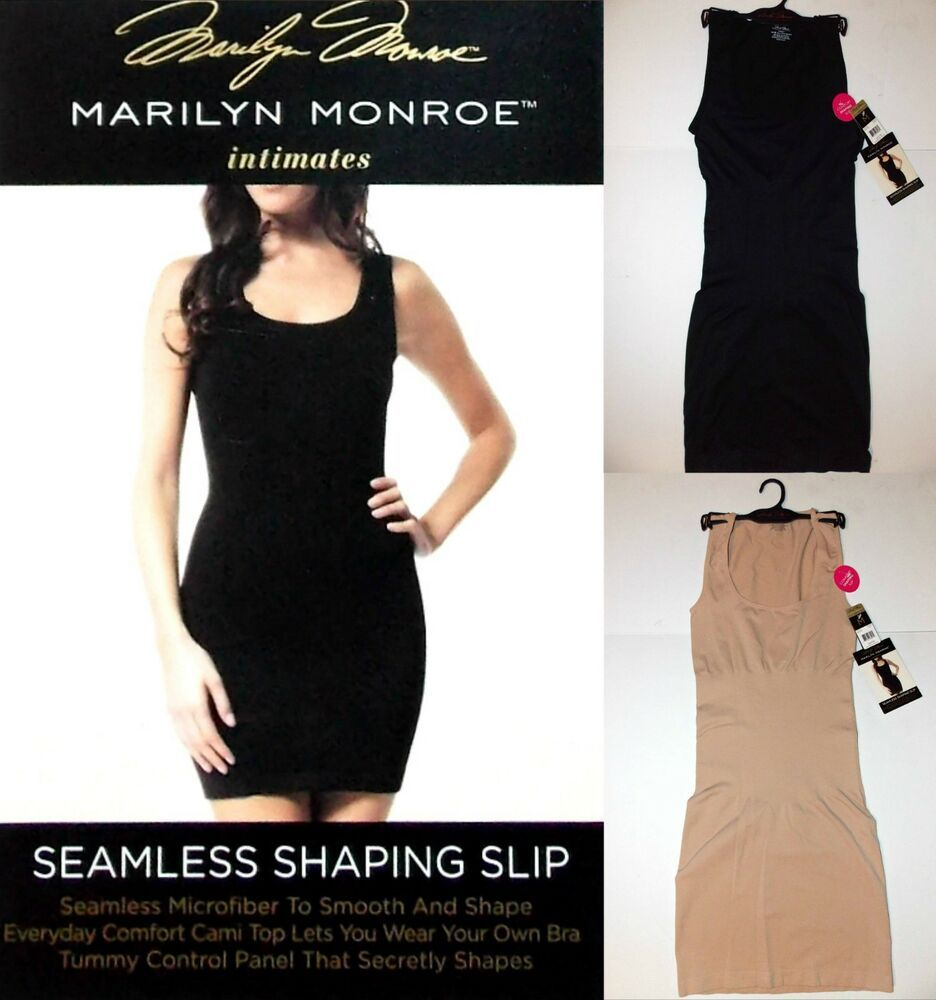 NWT MARILYN MONROE STRAPLESS CONVERTIBLE SLIMMING SHAPING BODYSUIT S M L XL