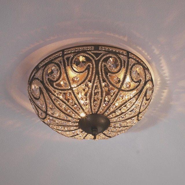 Large Flush Mount Ceiling Lights Copper Bathroom Faucets Corner