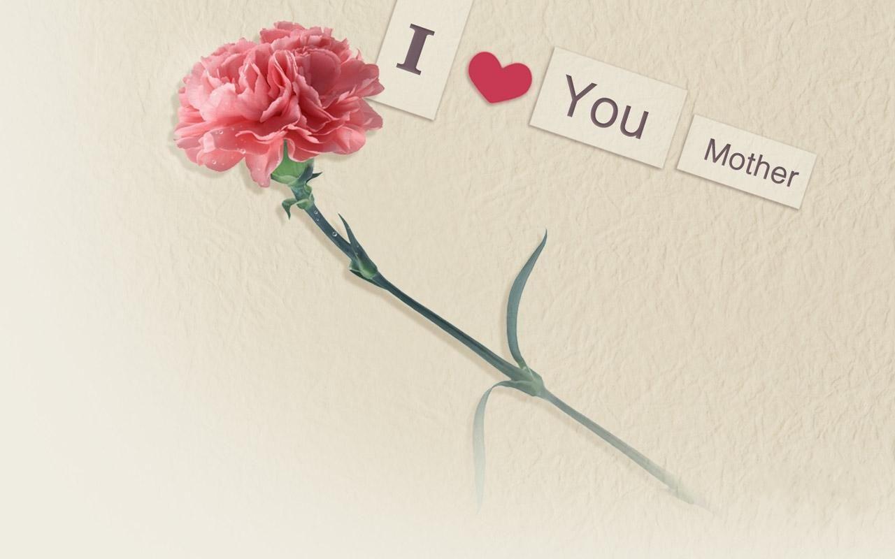 Hd i love you mother rose for mother day desktop