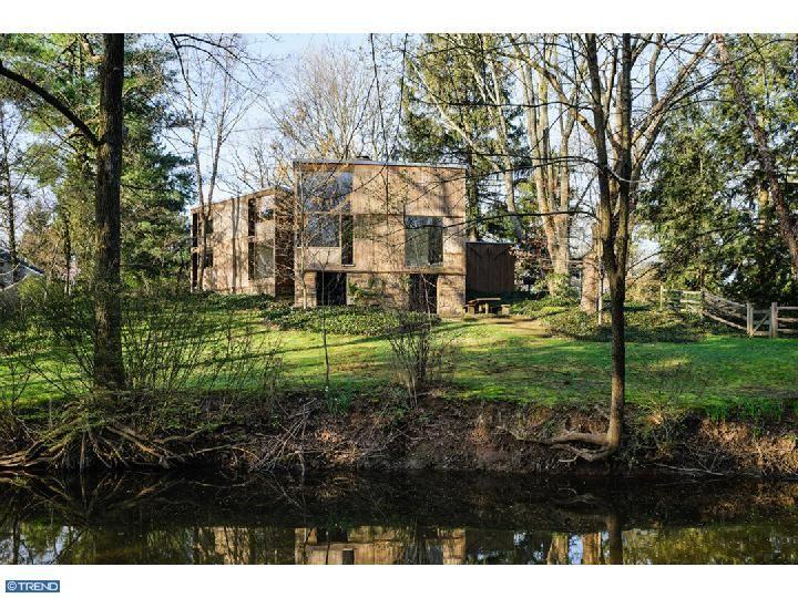Norman Fisher House,   Louis Kahn,  Philadelphia, Pennsylvania, 1960