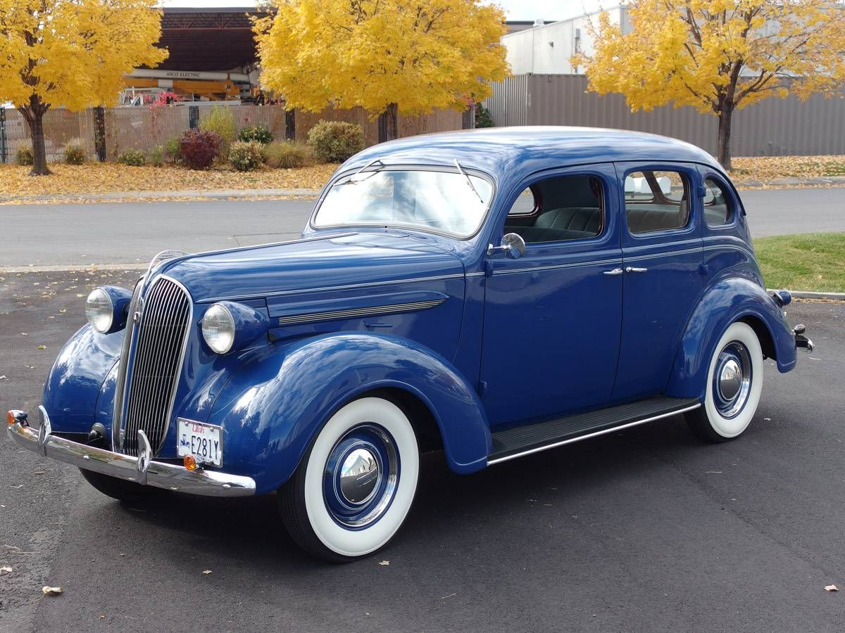 1937 Plymouth P4 | 20s & 30s Cars | Pinterest | Plymouth, Sedans and ...