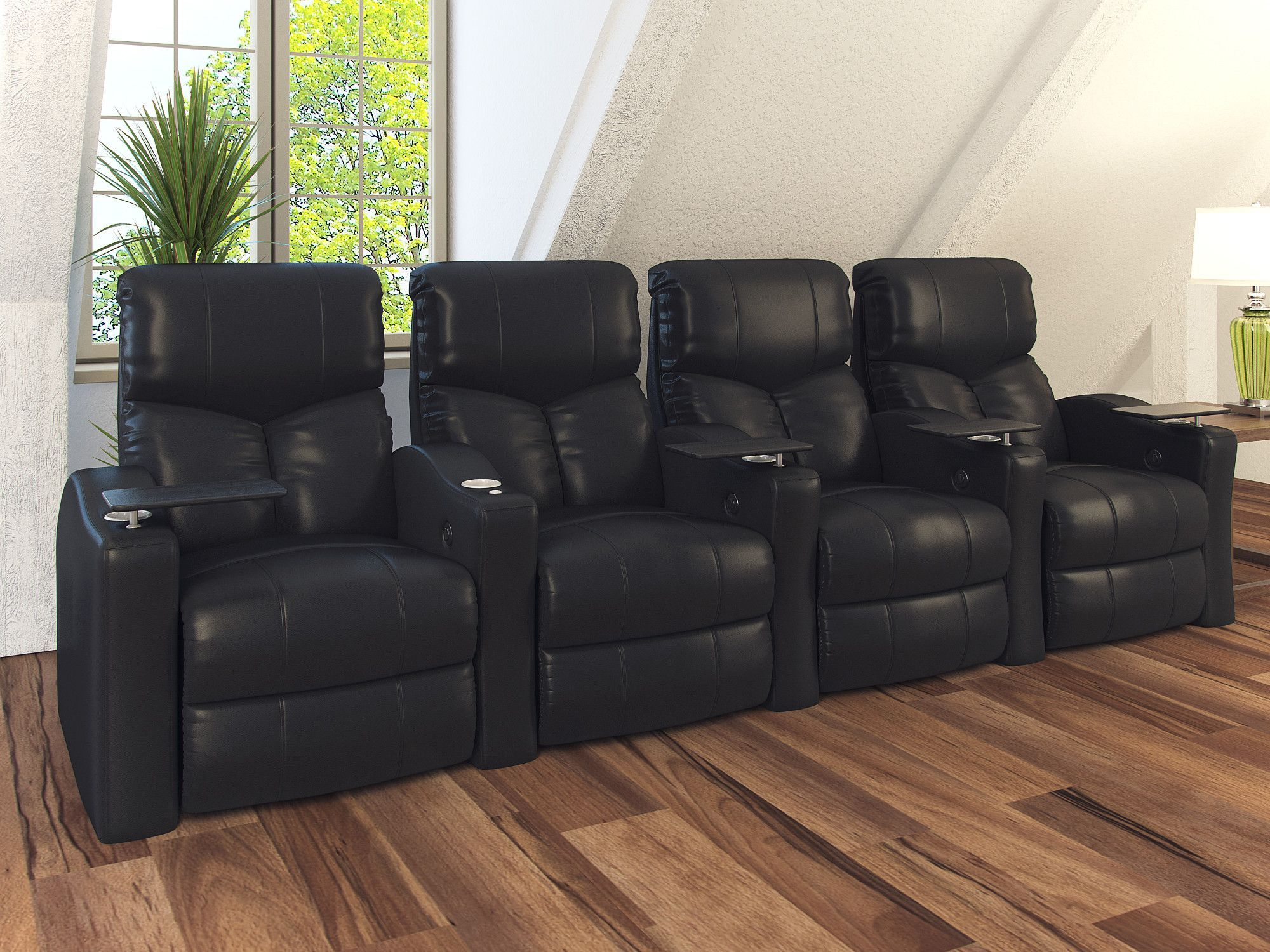 Features space saving design enabling you to fit more seats in a