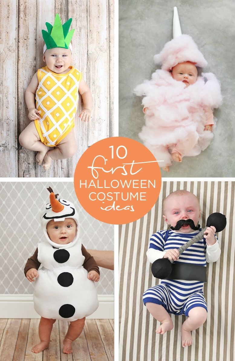 baby's first halloween family costume