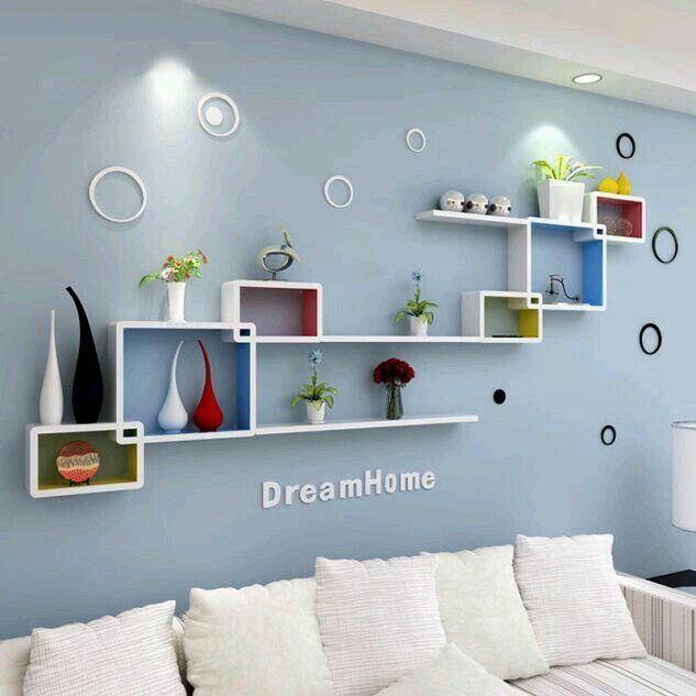 Pin By Caedan Lavender On Casa Wall Shelves Living Room Wall Shelves Design Shelf Design