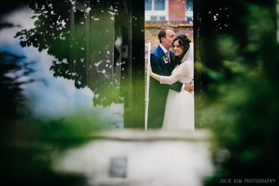 wedding portraits in London at Sutton House