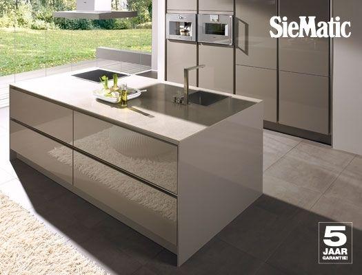 Keuken taupe House Pinterest - granit arbeitsplatte küche