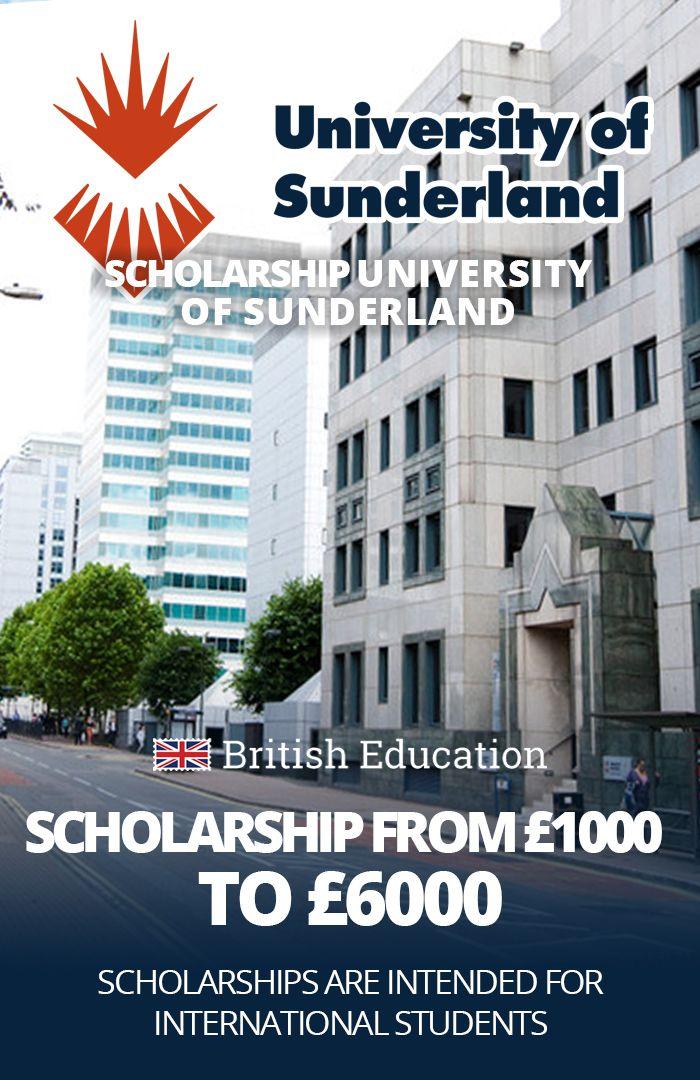 University of Sunderland - Scholarship for international ...