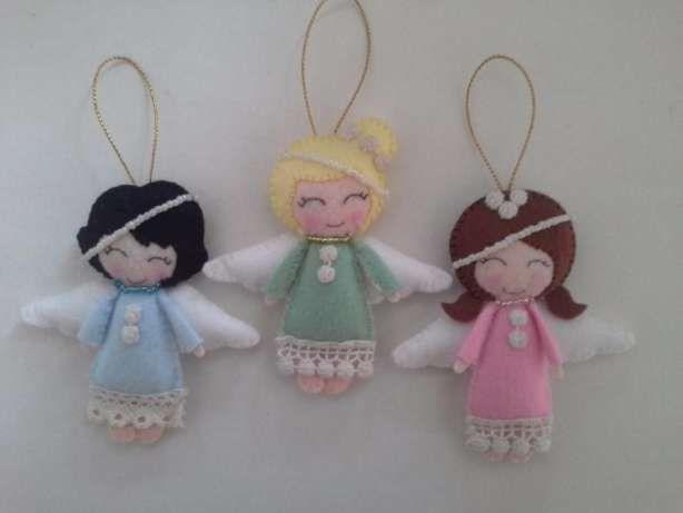 Новогодние игрушки из фетра Донецк - изображение 4