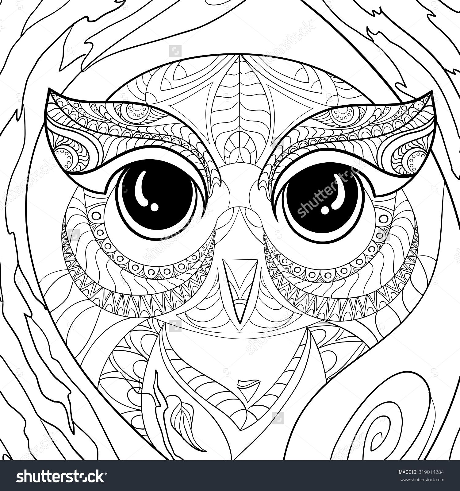 stock vector art and color therapy an anti stress coloring book
