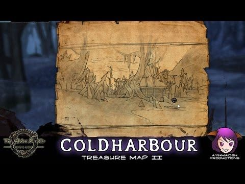 Coldharbour Treasure Map II | ESO - Treasure Map | Treasure ... on green shade treasure map, the rift ce treasure map, eso stone falls ce treasure map, deshann eso ce treasure map,