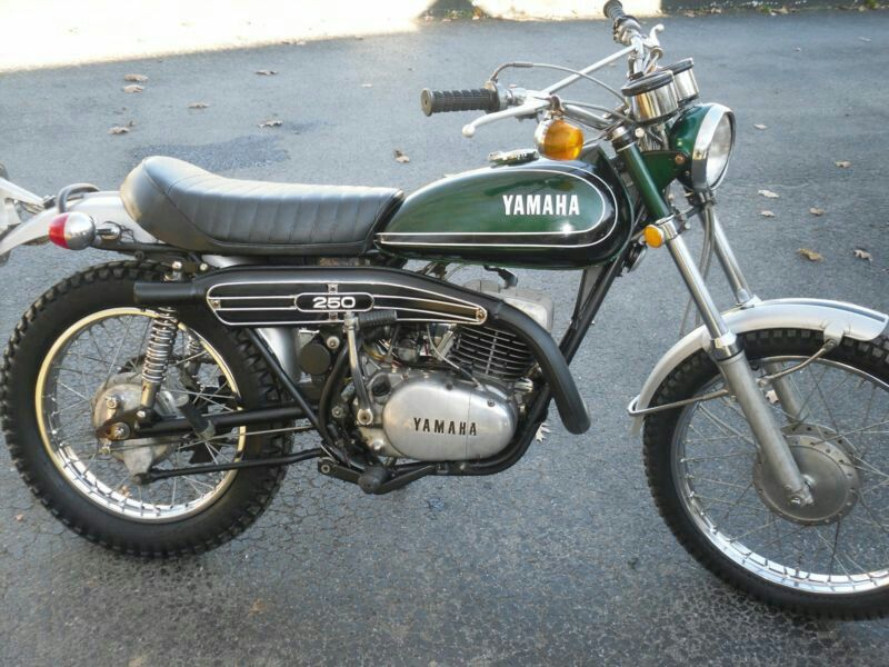 1973 Yamaha 250 Enduro Enduro Motorcycle Yamaha Yamaha 250