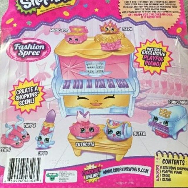 Back Of The Ballet Collection Fashion Spree Playset! #Repost  @biggestshopkinsfan #shopkins #shopkinsseason3