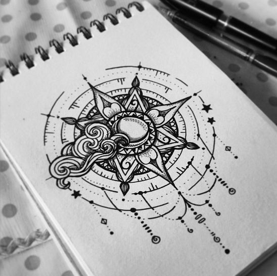 Tatto Ideas 2017  TATTOOS DESIGN on Behance    is part of Tattoos, Sun tattoo designs, Moon tattoo, Tattoo drawings, Mandala tattoo, Art tattoo - Tatto Ideas & Trends 2017  DISCOVER TATTOOS DESIGN on Behance Discovred by  kitsune