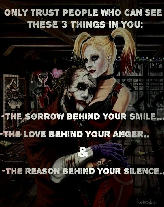Harley Quinn And Joker Quotes Quotes Joker Quotes Harley Quinn