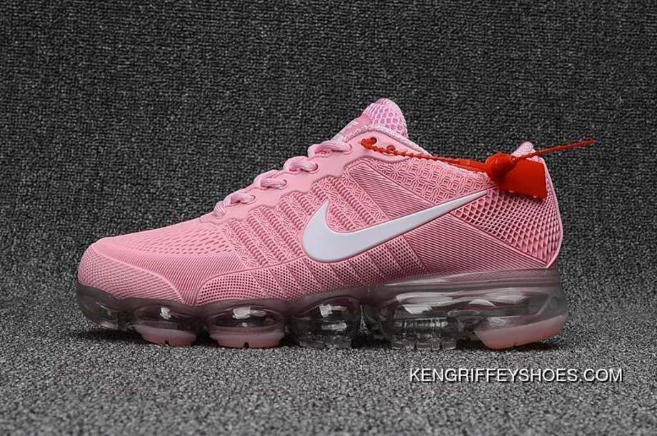 Buy Girls Exclusive Nike Air Vapormax Flyknit Pink White