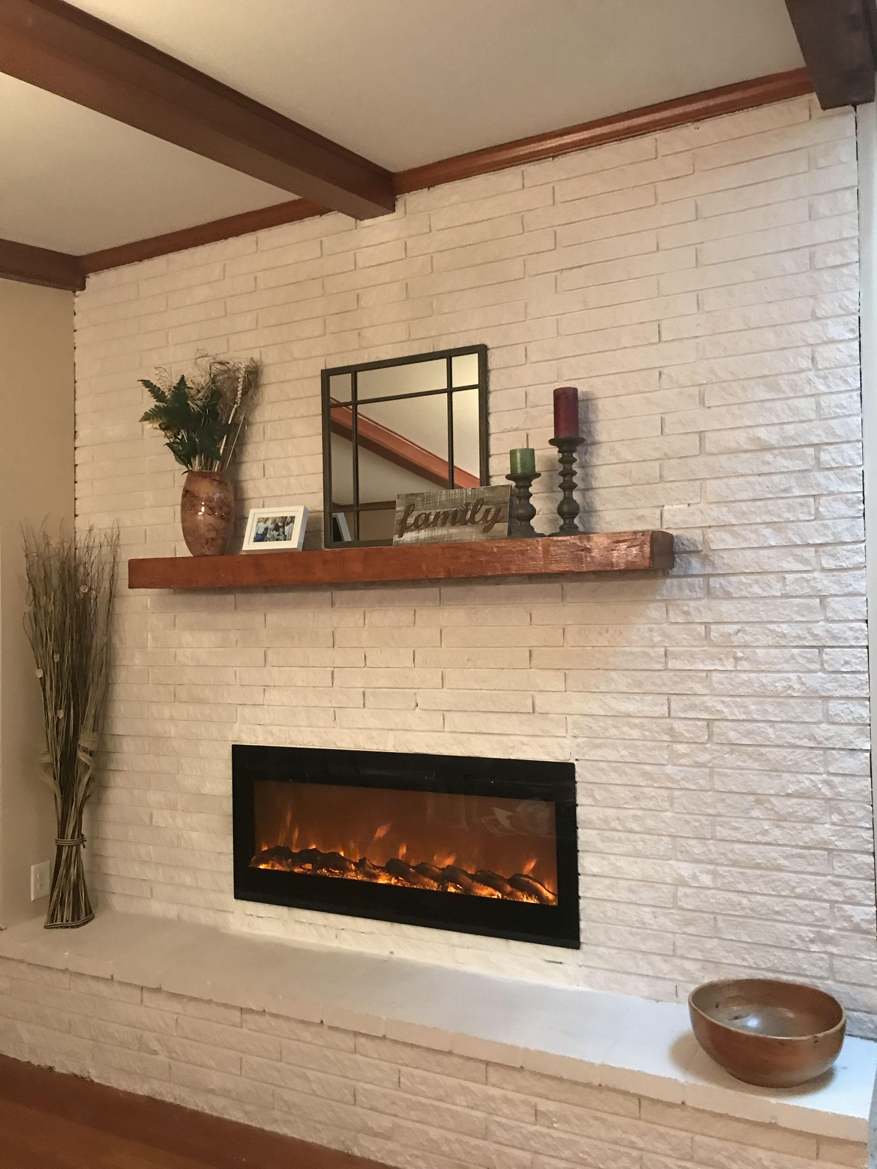 Mid Century Modern Fireplace And Mantel Modern Fireplace