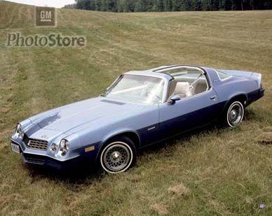 Chevrolet Camaro (second generation) - Wikipedia