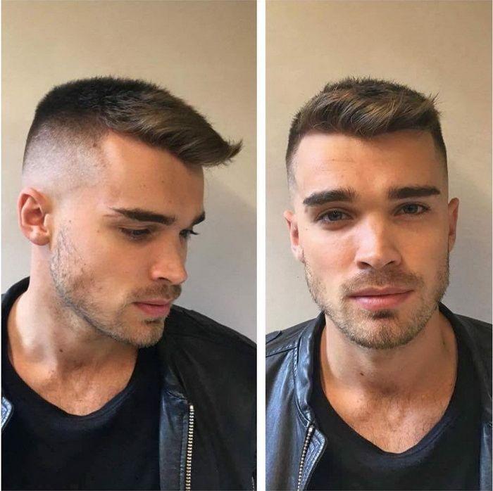 Kurze Herren Haarschnitt Men Hairstyles Models Frisuren Manner