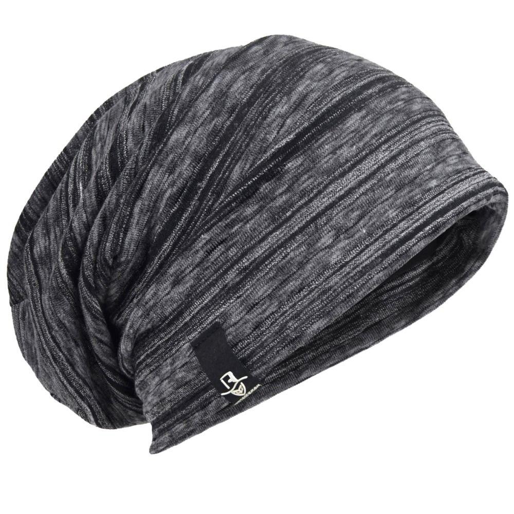 8c7c8cc63eb4e Click to Buy    Mens Beanie Cap Skullcap Thin Summer Hat Cool Cosy ...
