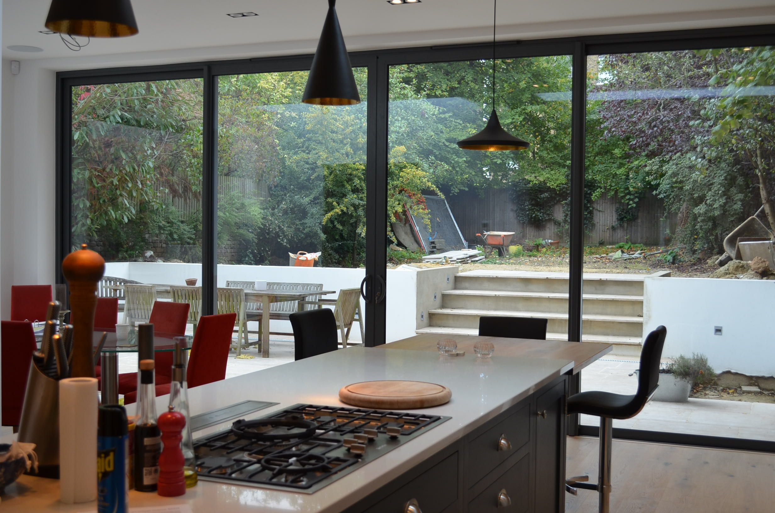 Contemporary kitchen extension