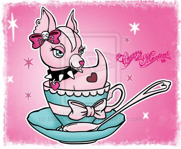 Chihuahua by Miss-Cherry- on @deviantARTTeacup Chihuahua by Miss-Cherry- on @deviantART