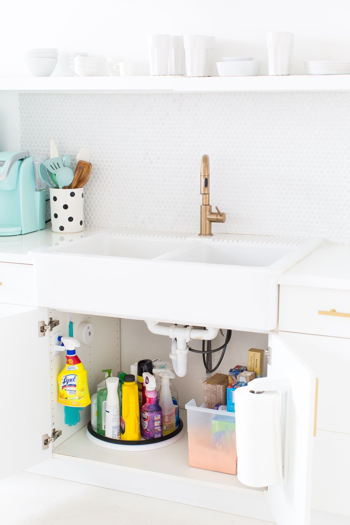 These Insanely Organized Cabinets Will Inspire You To Tidy Up Bathroom Storage Solutions Diy Bathroom Storage Kitchen Cabinet Storage