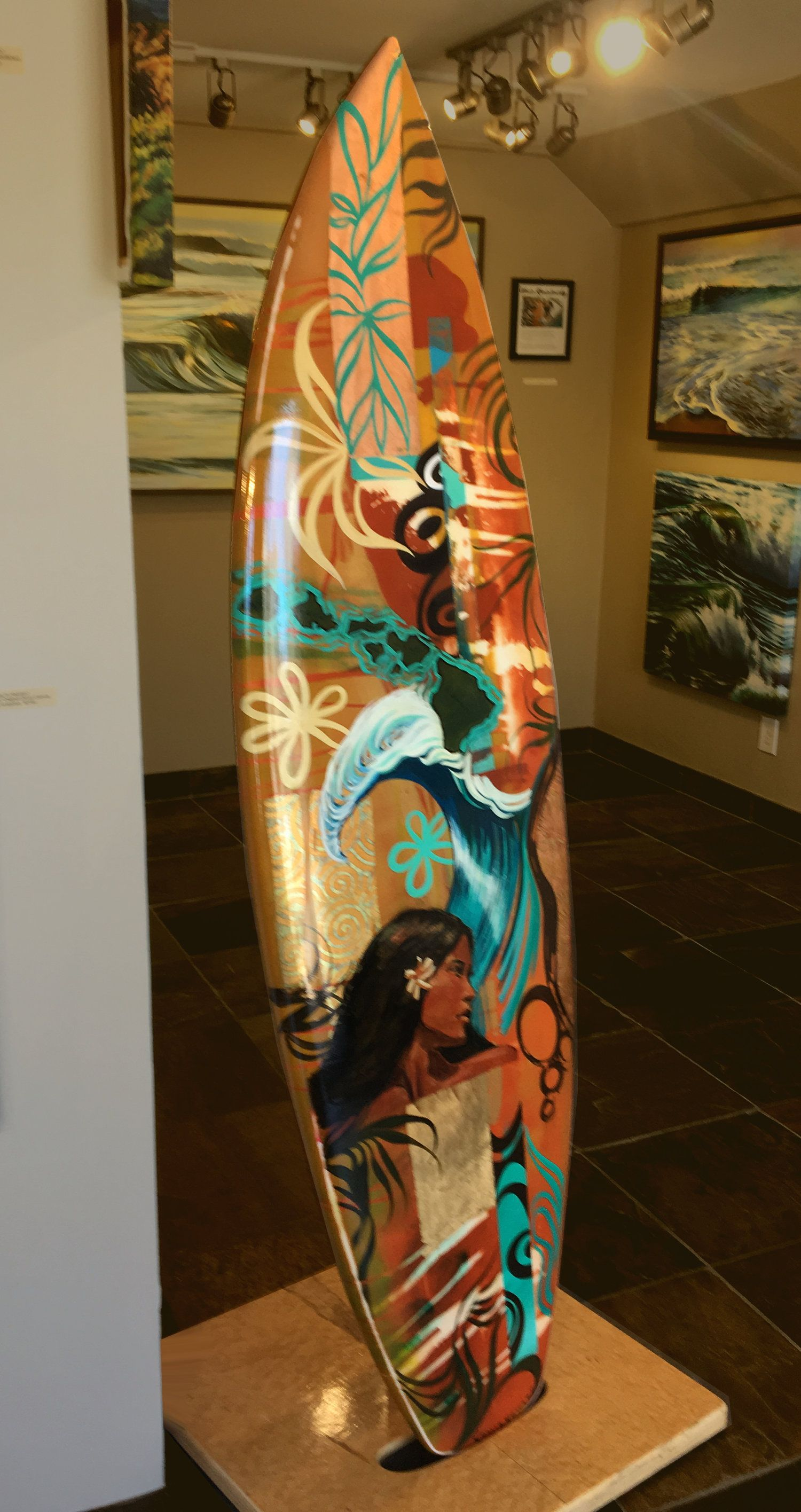 Pin By Follow Your Wave On Surfboard Art Design Surfboard Art