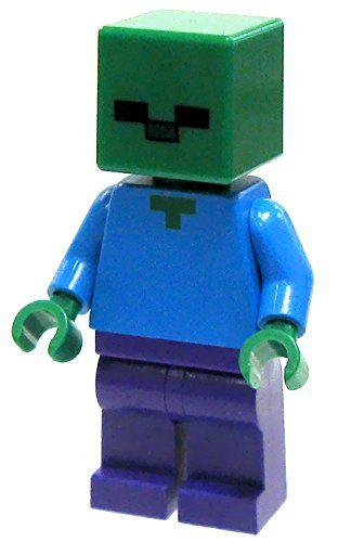 LEGO Minecraft Minifigure Zombie Minecraft http://www.amazon.com/dp ...